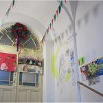 Výstava žákovských prací ve školní galerii